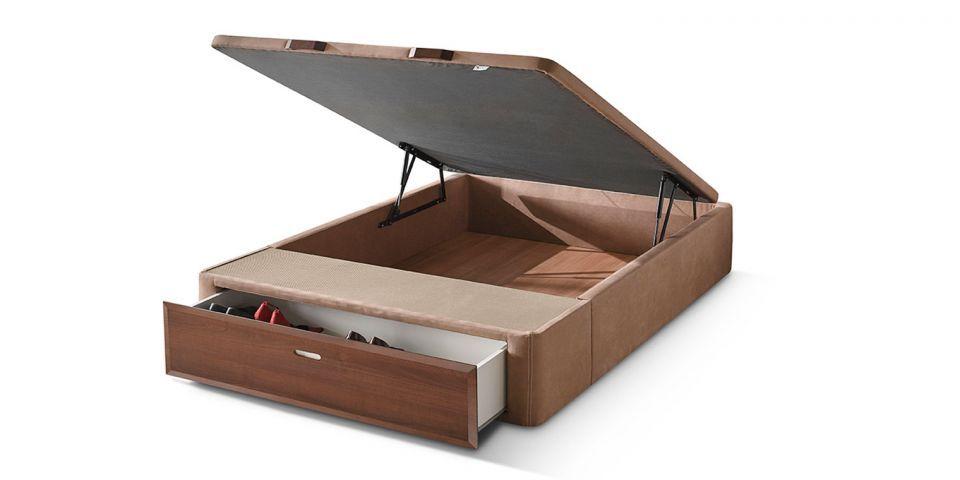 Ventajas de elegir un canap con cajones - Base cama almacenaje ...
