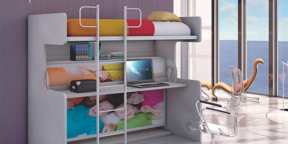 Mantenimiento y uso de las literas abatibles for Litera mueble joven