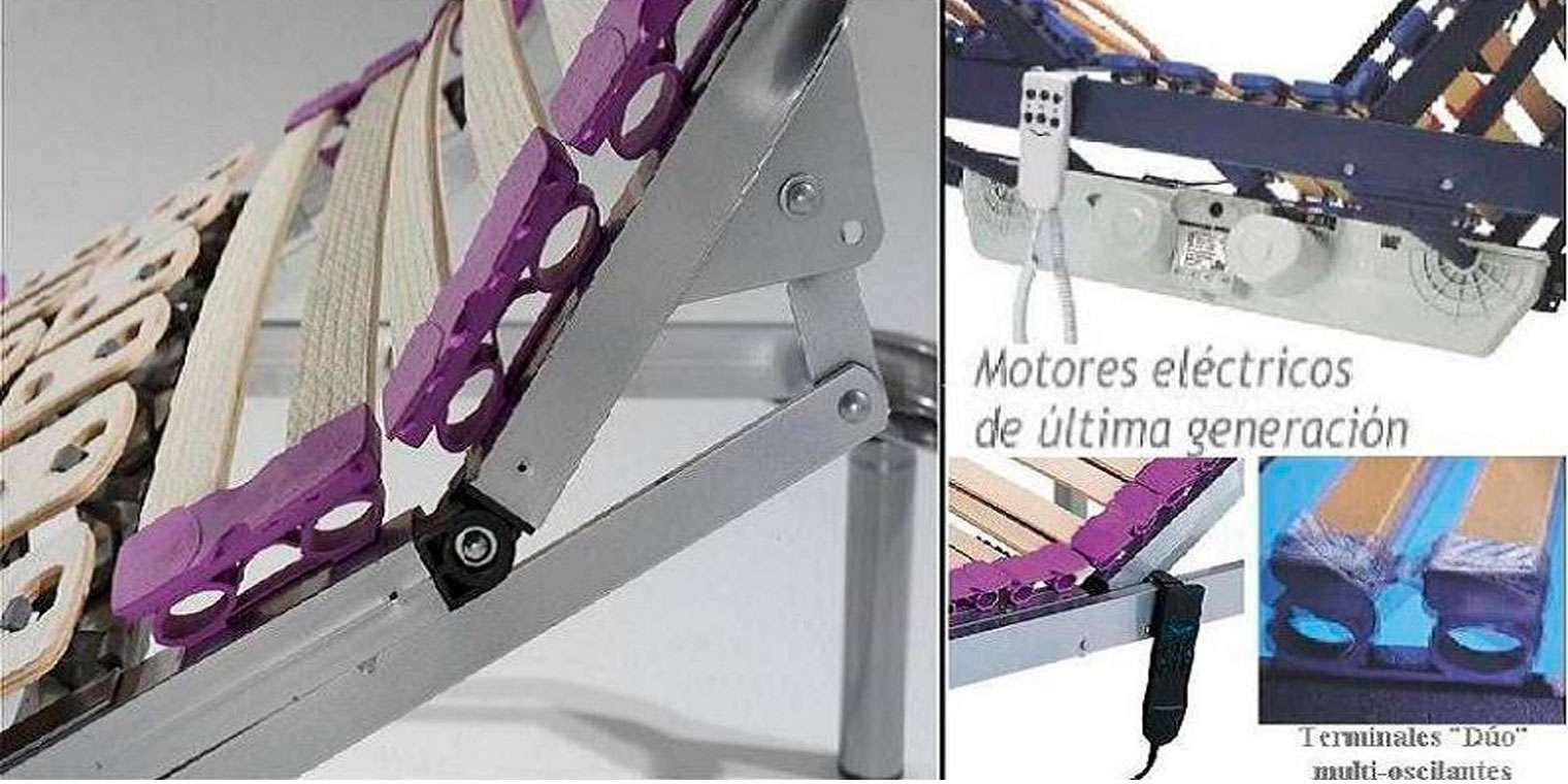 Somier Articulado Motor + Colchon Viscoelástico | Canapi