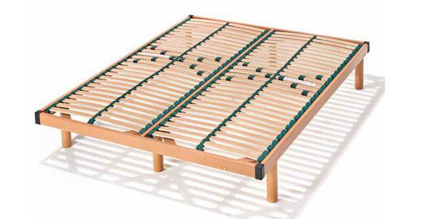 Comprar somier madera multiconfort somier 105 x 190 for Precio somier 105 x 190