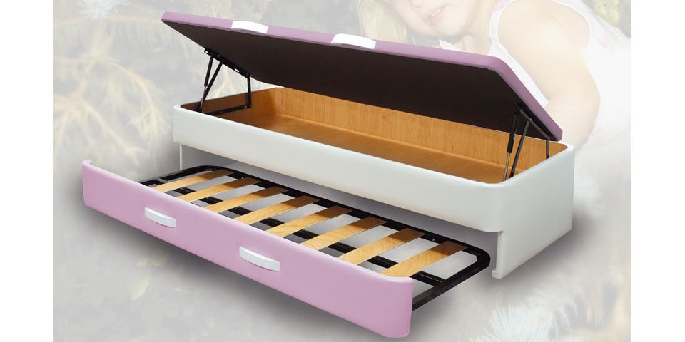 Canap abatible nido canapi for Cama canape 90