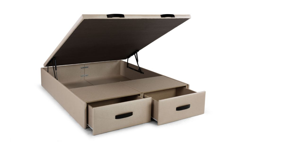 Canap cajones stylebox canapi for Canape con zapatero
