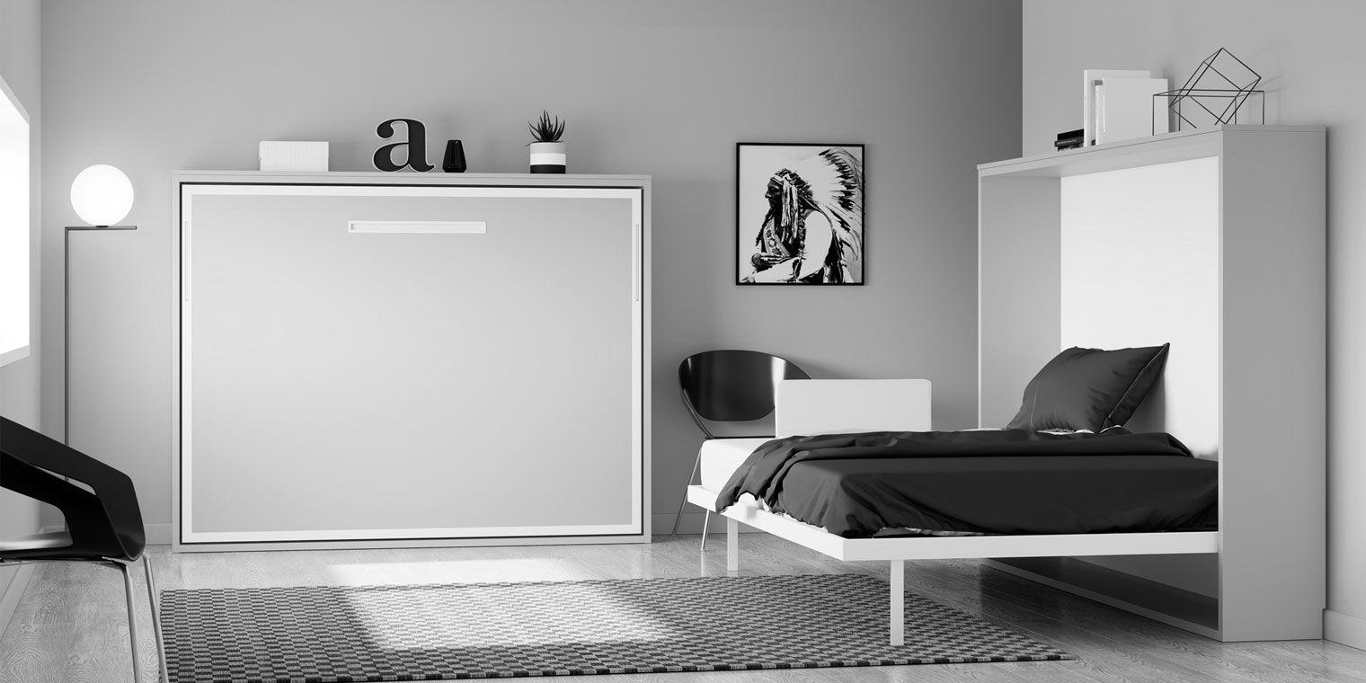 Cama abatible horizontal space canapi - Cama abatible 135 ...