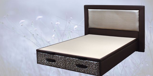 Cama tapizada NEW BOX