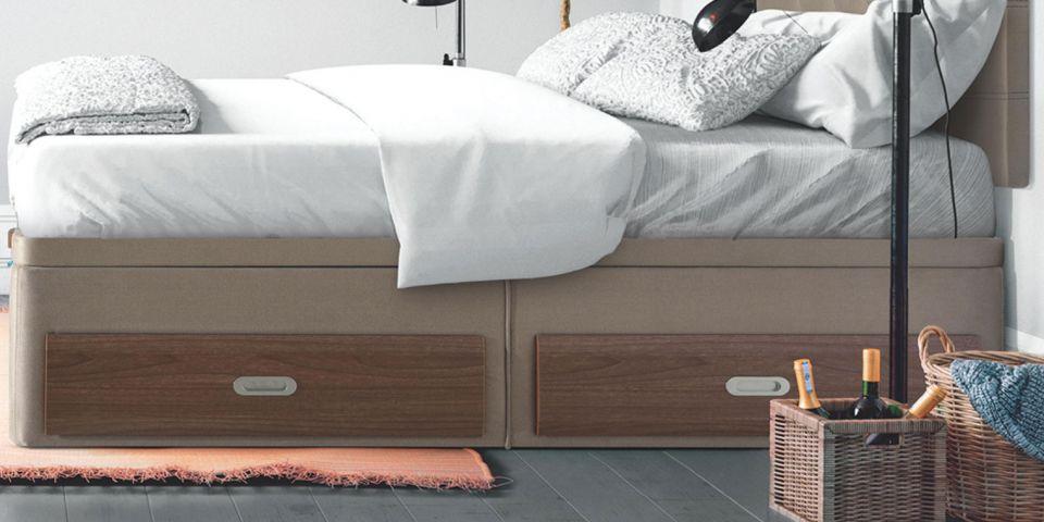 Descanso y salud por qu elegir un canap abatible con - Cajones para debajo de la cama ...
