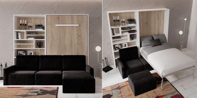 Cama abatible VERTICAL  SOFA