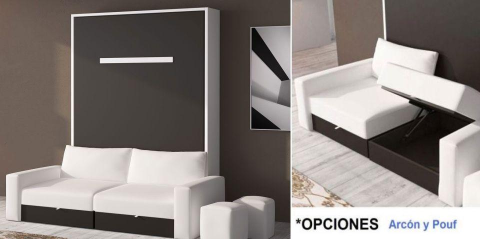 Opcionales cama abatible vertical sofa - Camas abatibles con sofa ...