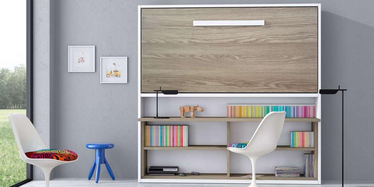 Cama abatible horizontal escritorio canapi - Escritorio cama abatible ...