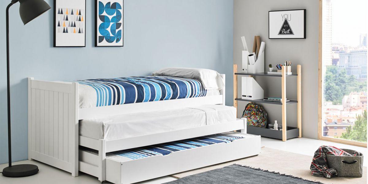 Opcionales cama compacta nido for Dimensiones cama nido