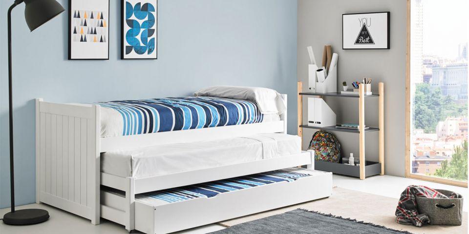 Opcionales cama compacta nido for Camas nido compactas