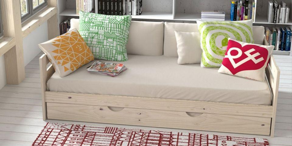 Caracteristicas cama nido sof for Estructura cama 90x190