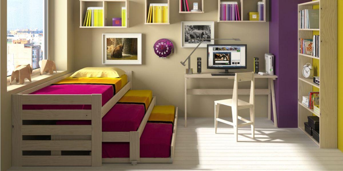 Opcionales cama compacta triple for Camas compactas precios