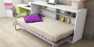 cama-abatible-horizontal-estantes