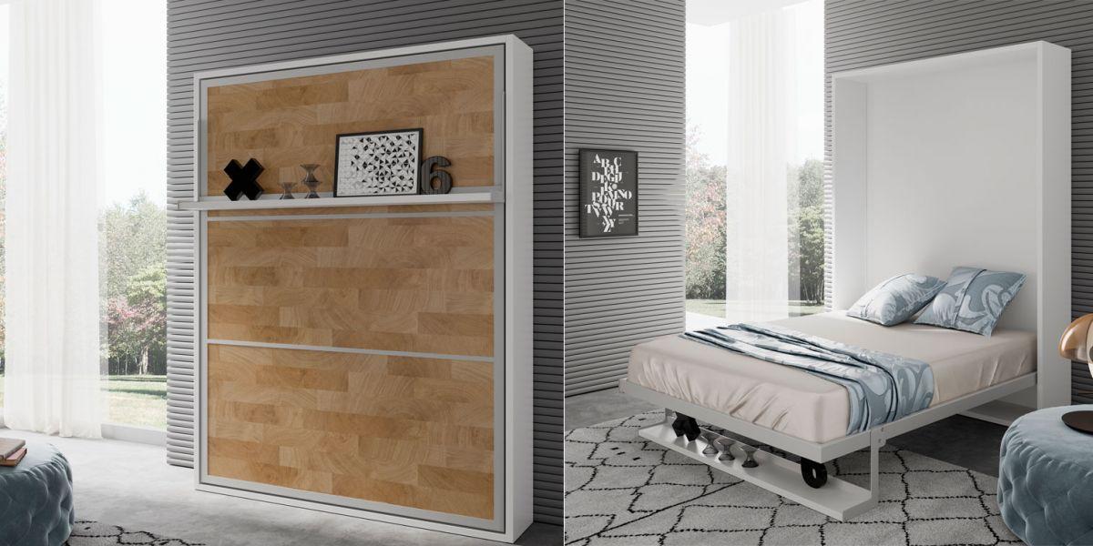 Indicaciones cama abatible vertical design for Cama abatible vertical