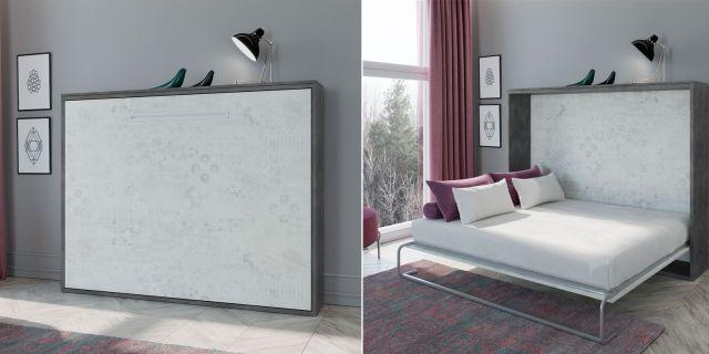 Comprar cama abatible horizontal tempo cama 135 x 190 - Camas abatibles 135 ...