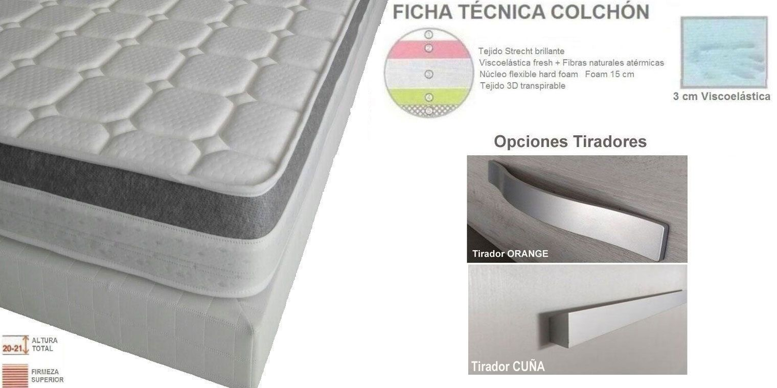 Cama abatible Horizontal SOFT | Canapi