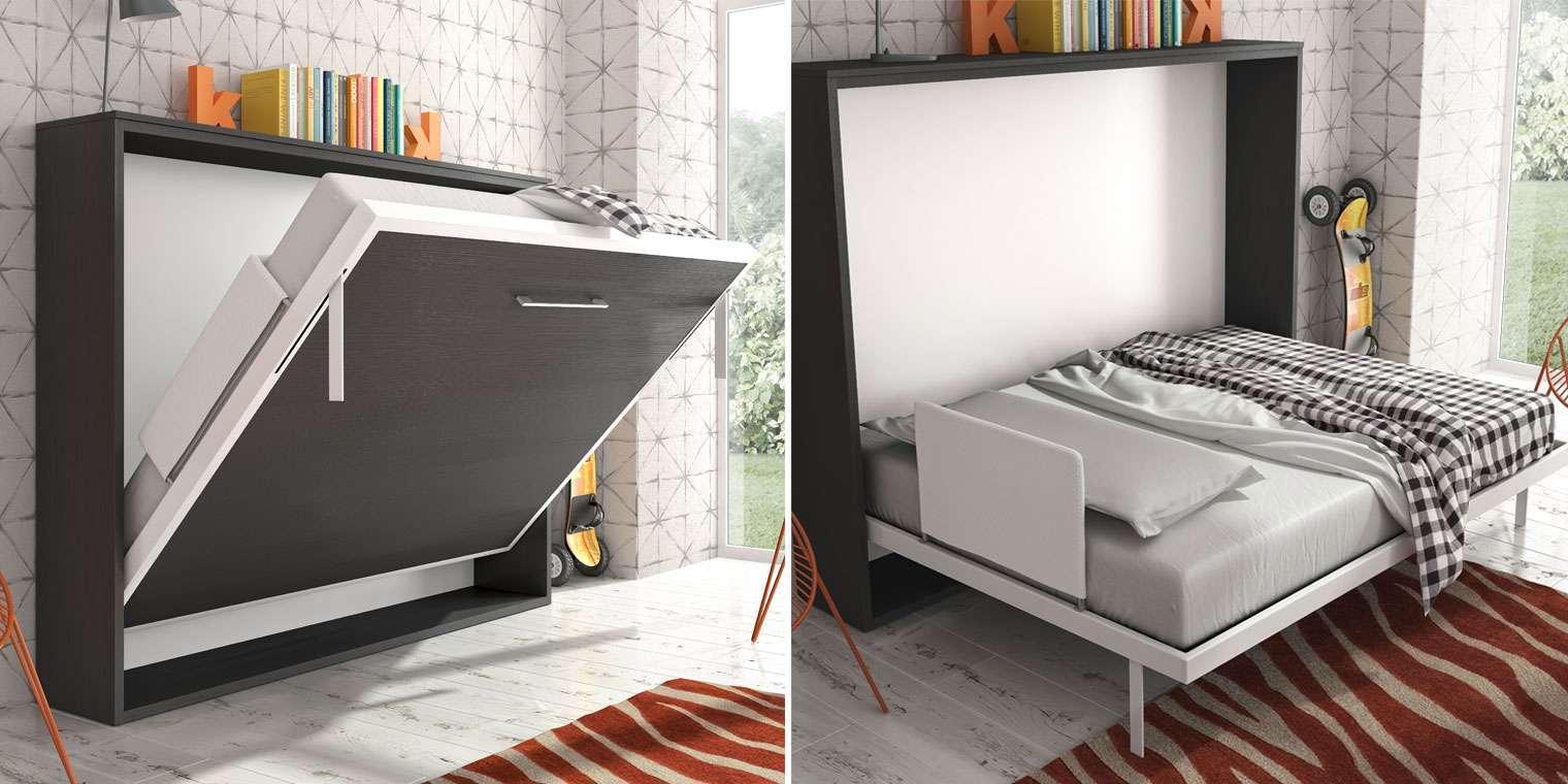 Cama abatible horizontal 105x190 canapi - Fabricar cama abatible ...